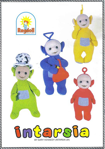 Teletubbies Knitting Pattern : Ravelry: Teletubbies: 4 Knitting Patterns: Toys - patterns