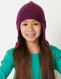Ravelry: Basic Earflap Hat pattern by Bernat Design Studio