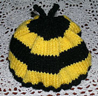 Ravelry: Baby Bumble Bee Hat pattern by Knitter Ninjas Designs