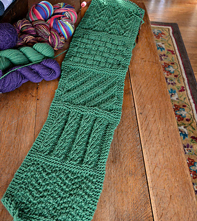 Knitting Stitches Samples : Ravelry: You CAN Do It Sampler Scarf pattern by Jean Barresi