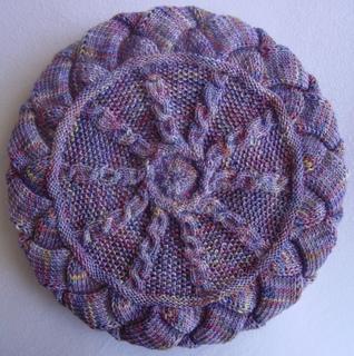 Entrelac Beret Knitting Pattern : Ravelry: Blustery Day Beret Entrelac Hat Pattern pattern by Sharon Mooney