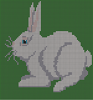 Ravelry Little Bunny Knitting Charts Pattern By Melanie