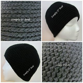Ravelry: Simply Reversible Faux Knit Hat pattern by Simply ...
