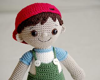 How To Make Crochet Amigurumi Patterns : Ravelry: Tobias - Amigurumi Boy pattern by Maarja Harsing-Vark