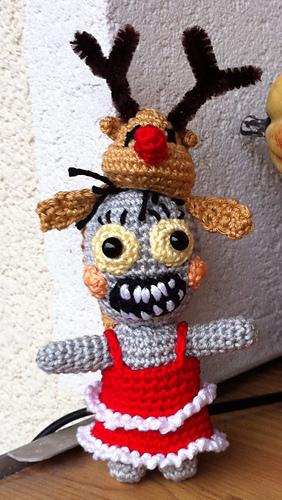 Amigurumi Patterns K And J Dolls Blog : Ravelry: Zombie Gretel pattern by Kerstin Batz