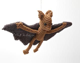 Amigurumi Bat Wings : Ravelry: Bennet The Baby Bat pattern by StuffTheBody