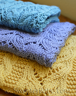 Selling Knitting Patterns : Ravelry: eB0003 3 Best-Selling Blanket Knitting Patterns from SweaterBabe.com...