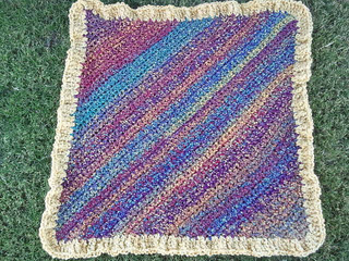 Free Crochet Pattern For Diagonal Baby Blanket : Ravelry: Diagonal Pattern Baby Blanket (Crochet) pattern ...