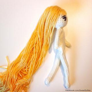 Amigurumi Female Body : Ravelry: Standard Size Japanese Anime-style Female Doll ...