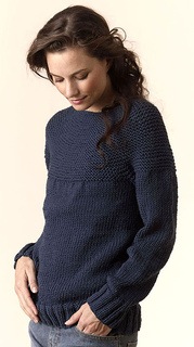 Ravelry: Torino Bulky Circular Pullover pattern by Tahki Stacy Charles