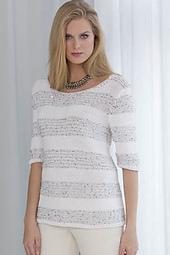 Bianca Sparkle Stripe Pullover PDF