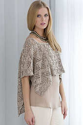 Cara Cropped Poncho Top PDF