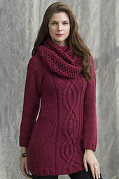 Wine Country Cabled Tunic PDF