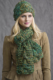 Trailways Cabled Scarf PDF