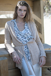 Indian Wells Belted Cardigan PDF