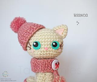 Amigurumi Gatita Kitty : Ravelry: Amigurumi: Gata - Gatita Bianca / Cat Bianca ...