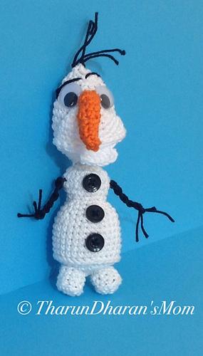 Ravelry: Snowman - Amigurumi Crochet Pattern , Olaf the ...