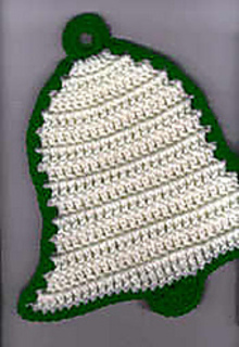 Ravelry New Year Bell Potholder Pattern By Cylinda D Mathews