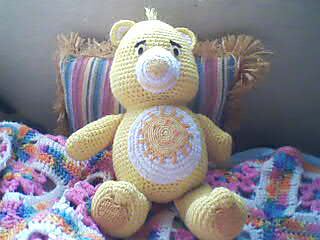 Ravelry: Care Bear pattern by Carolyn Christmas