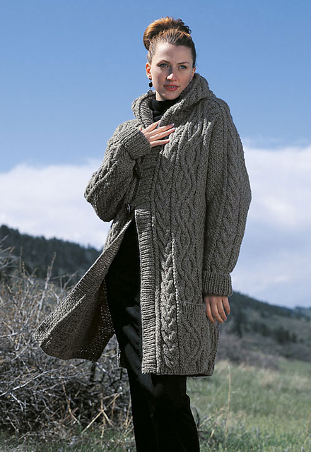 Ravelry: Irish Knits! Aran Sweater Collection - patterns