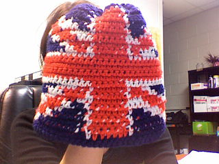 Ravelry: Union Jack chart pattern by Becky Brockman