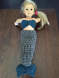 Free Knitting Pattern Mermaid Doll : Ravelry: Knit American Girl Mermaid pattern by Wendy Wax