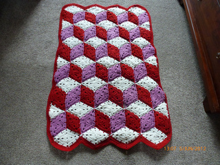 Ravelry Baby Blocks Crocheted Afghan Pattern By Coats