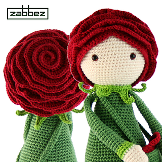 Ravelry: Rose Roxy flower doll pattern by Bas den Braver