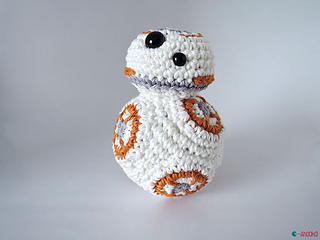 Ravelry: Star Wars BB8 pattern by Ahooka Migurumi