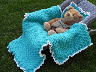 Car Seat Blanket Knitting Pattern : Ravelry: Winter Car Seat Blanket pattern by Yarn & Hook