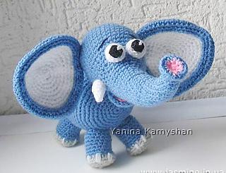 Ravelry: Cute Elephant pattern by Amigurumi Fair