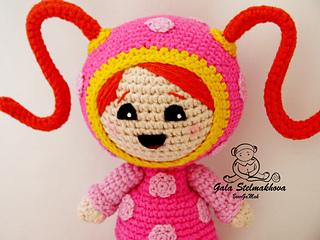 Free Crochet Pattern Umizoomi : Ravelry: Milli Umizoomi girl pattern by Amigurumi Fair