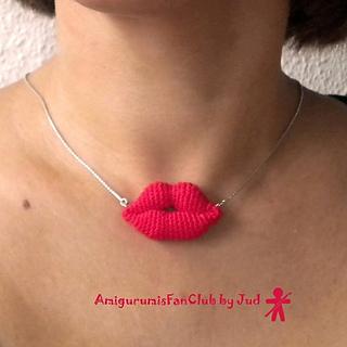Amigurumi Lips Pattern : Ravelry: Amigurumi lips pattern by Lucia Lanukas