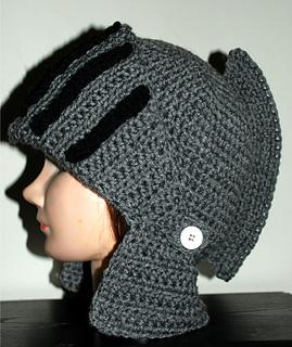Ravelry Men S Knight Helmet Hat Pattern By Amy Lehman