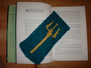Ravelry Poseidon S Trident Bookmark Pattern By Knitting