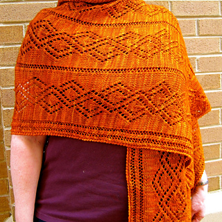 Vandyke Lace Knitting Pattern : Ravelry: Vandyke Lace Wrap pattern by Linda Lehman