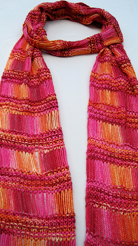 Free Knitting Patterns For Scarves With Beads : Ravelry: Bead Knitted Scarf pattern by Linda Lehman