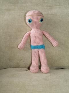 Amigurumi Basic Doll : Ravelry: Amigurumi Basic Doll pattern by Beth Ann Webber