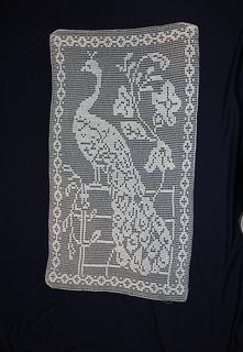 Ravelry Door Panel Of Scrim And Filet Crochet No 368