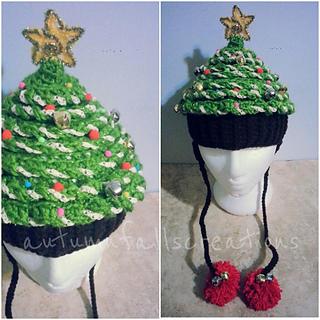 Free Crochet Christmas Tree Hat : Ravelry: Crochet Christmas Tree Hat pattern by Debi Dearest