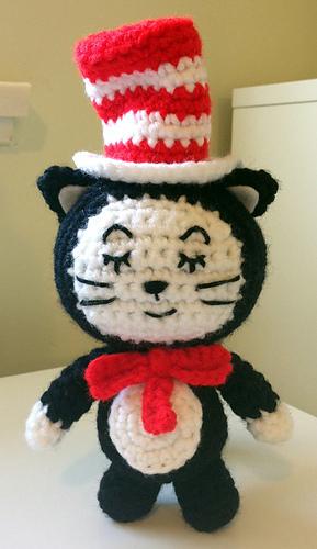 Ravelry Amigurumi Cat : Ravelry: The Cat in the Hat Amigurumi pattern by Autumn ...