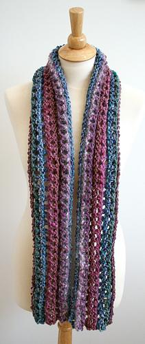 Ripple Scarf Knitting Pattern : Ravelry: Ripple Chunky Scarf Pattern pattern by Bees Knees Knitting