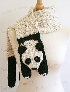 Bufanda crochet hombre patron