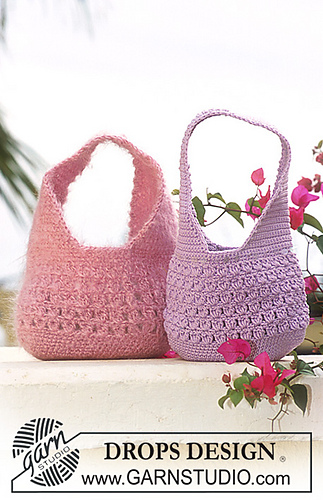 Ravelry: 69-26 Crocheted Purse pattern by DROPS design