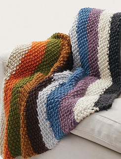 Ravelry Seed Stitch Blanket Pattern By Bernat Design Studio