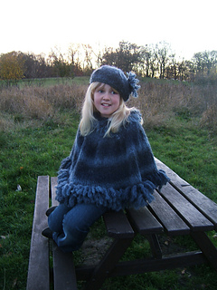 Storm_child_adult_poncho_with_matching_beret_small2