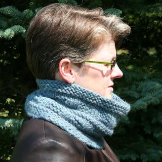 Ravelry: Quick Neck Gaiter pattern by Carole Schumann