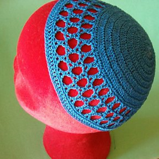 Free Crochet Yamaka Pattern : Ravelry: Star of David Kippah pattern by Elizabeth Ham