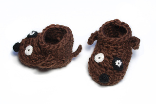 Free Crochet Pattern For Small Dog Booties : Ravelry: Dog baby booties pattern by Nuria Pastor