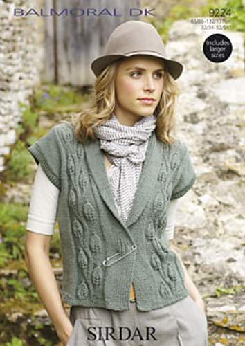 Sirdar Knitting Pattern Errata : Ravelry: Sirdar Balmoral DK 9224 - patterns